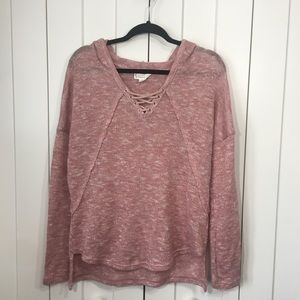 EUC loveriche hooded sweater. Oversized M